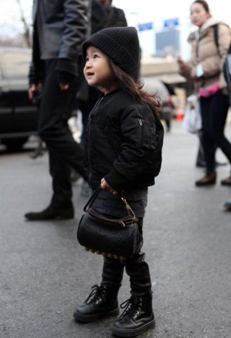 Alexander Wangs niece - so cute!