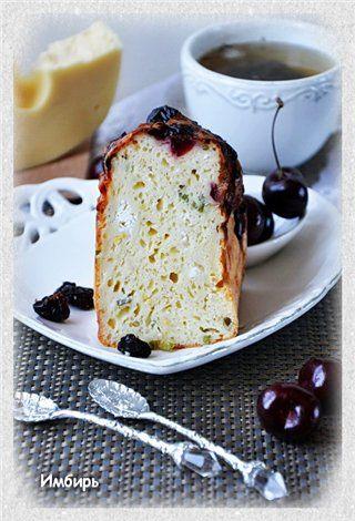 Сырный кекс с черешней : Простые рецепты для вкусной жизни