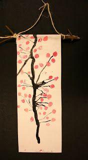 Art Project Girl: Cherry Blossom Scrolls
