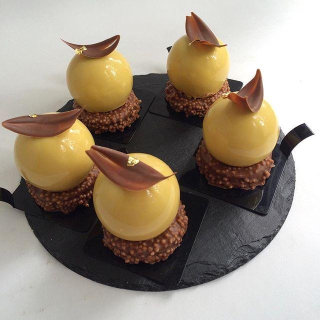 Mango-passionfruit-milk chocolate Просто пирожные Еду в любимый салон…