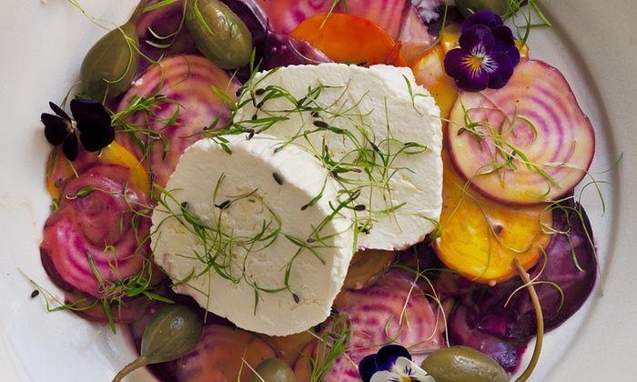 Meer dan 1000 afbeeldingen over salades van groenten vlees vis kip eieren pasta en fruit op - Maak een dressing ...