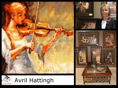 Avril Hattingh: Classic figures - Beautifull impressionistic!