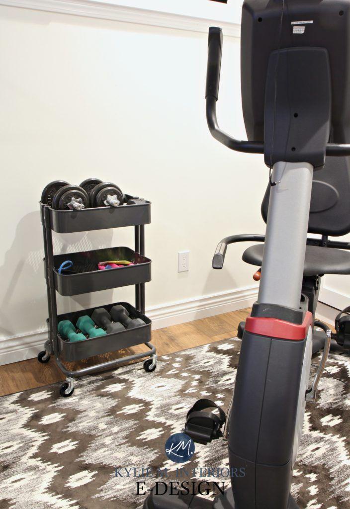 Storage ideas : the best little cart everu2026 decorating home gym