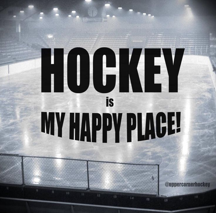 hockey is my happy place