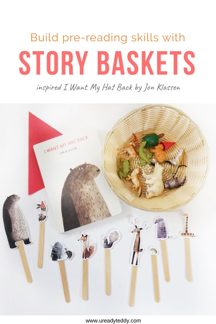 Story Basket for Toddlers: I Want My Hat Back
