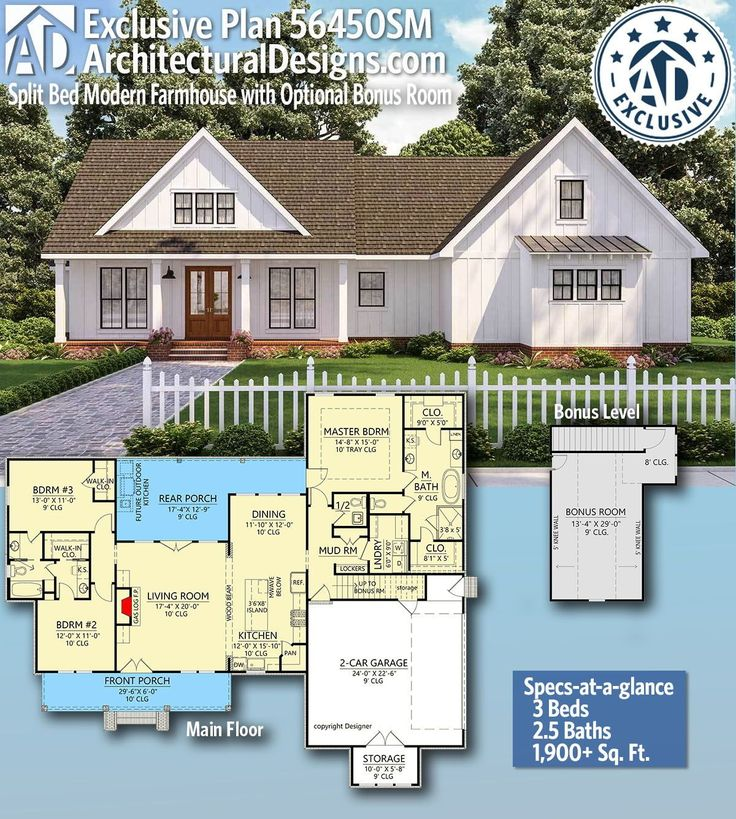 25 best tiny house plansplan 56450sm split bed modern