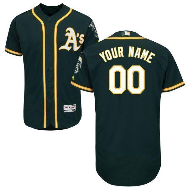 b723700a6 Men Oakland Athletics Majestic Alternate Green Flex Base Authentic  Collection Custom MLB Jersey,cheap mlb jerseys,cheap mlb jerseys china from  ...