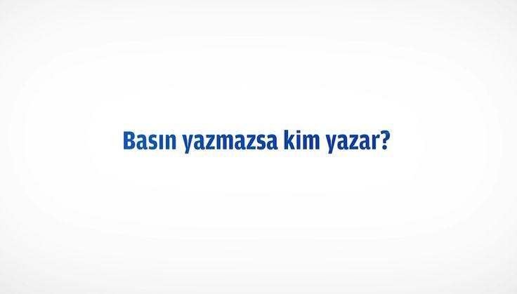 ZAMAN Gazetesi Yeni Reklam Filmi - BASIN YAZMAZSA KİM YAZAR? - Ekim 2014