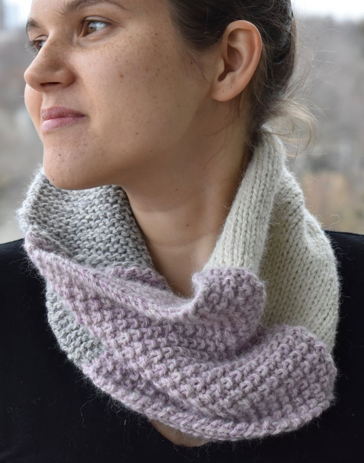 The SOHO is a beautiful textured scarf. It was hand-knit and designed in Toronto so it is a truly one of a kind item. The wool is ethically sourced alpaca wool and it is sourced from a local farm in Ontario. This bohemian style scarf will keep you warm and stylish in the chilly months. ($129 CDN)