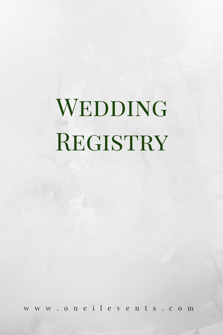 wedding registry tips how and where to register for weddings