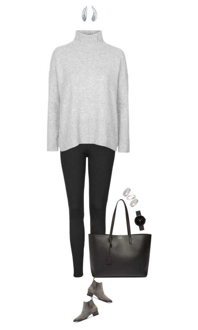 """""""Sunday brunch outfit !"""" by azzra on Polyvore featuring Topshop, Yves Saint Laurent, I Love Ugly, Bling Jewelry, women's clothing, women, female, woman, misses and juniors"""