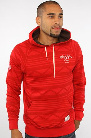 The Apache Hoody in True Red by Crooks and Castles