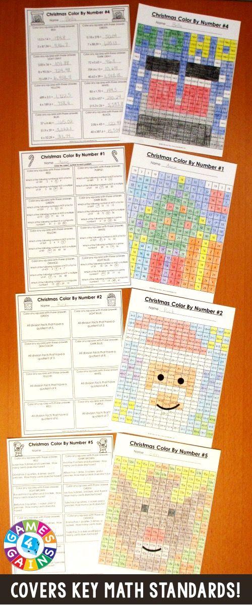 christmas math activities 5th grade   math worksheets and