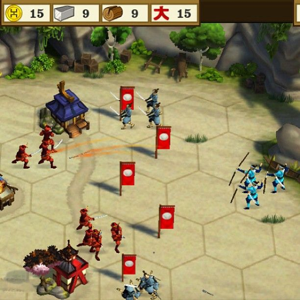 @apppipes photo: Do you like Samurais? Then you should play Total War Battles #ios
