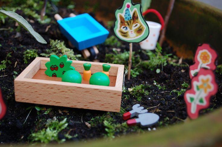 Het is BIJNA lente!  Maak een minituin.  kinderwinkelwesterkade.nl