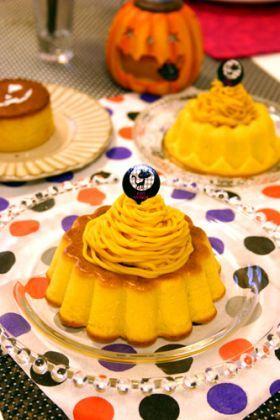 「しっとりハロウィンかぼちゃのケーキ☆」ぱお   お菓子・パンのレシピや作り方【corecle*コレクル】