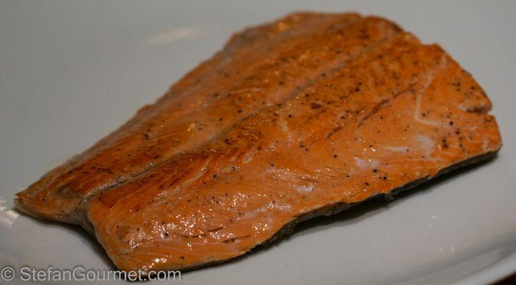 Frozen Salmon Sous-Vide