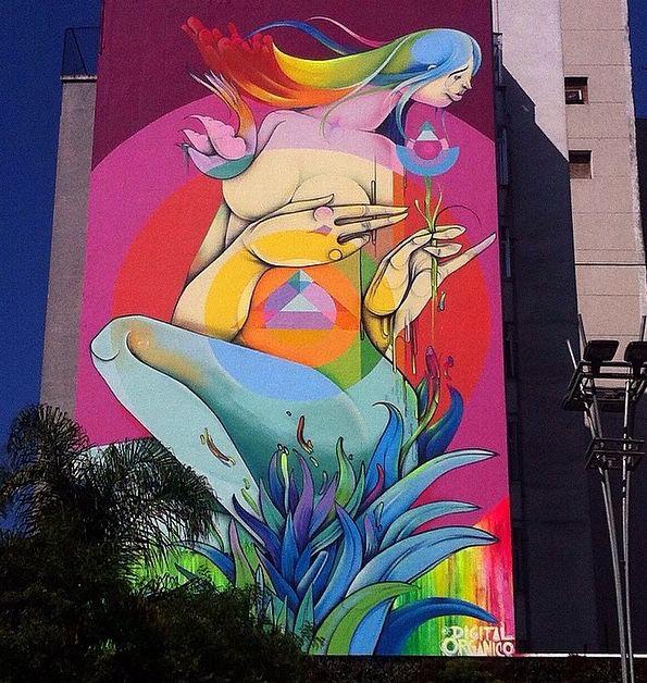 by Digital Organico in São Paulo, Brazil, 10/14 (LP)
