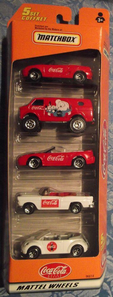 Matchbox 5 set Coca Cola 1999