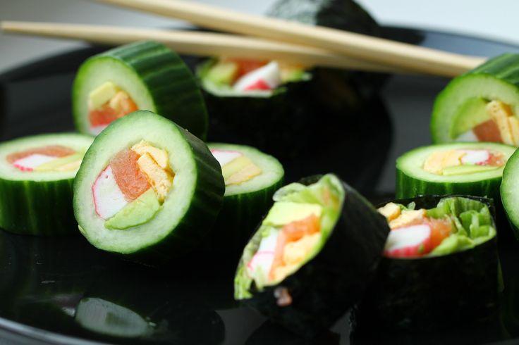 Komkommer Sushi Rol