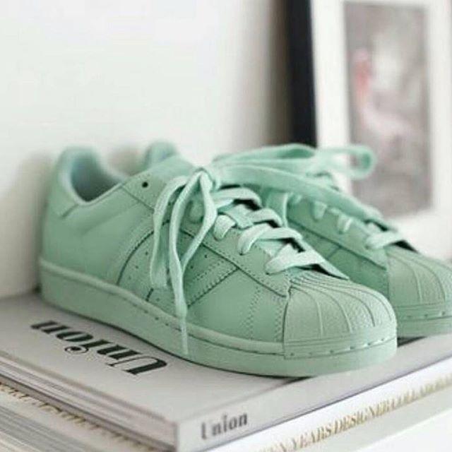 Adidas Superstar Mintgrün