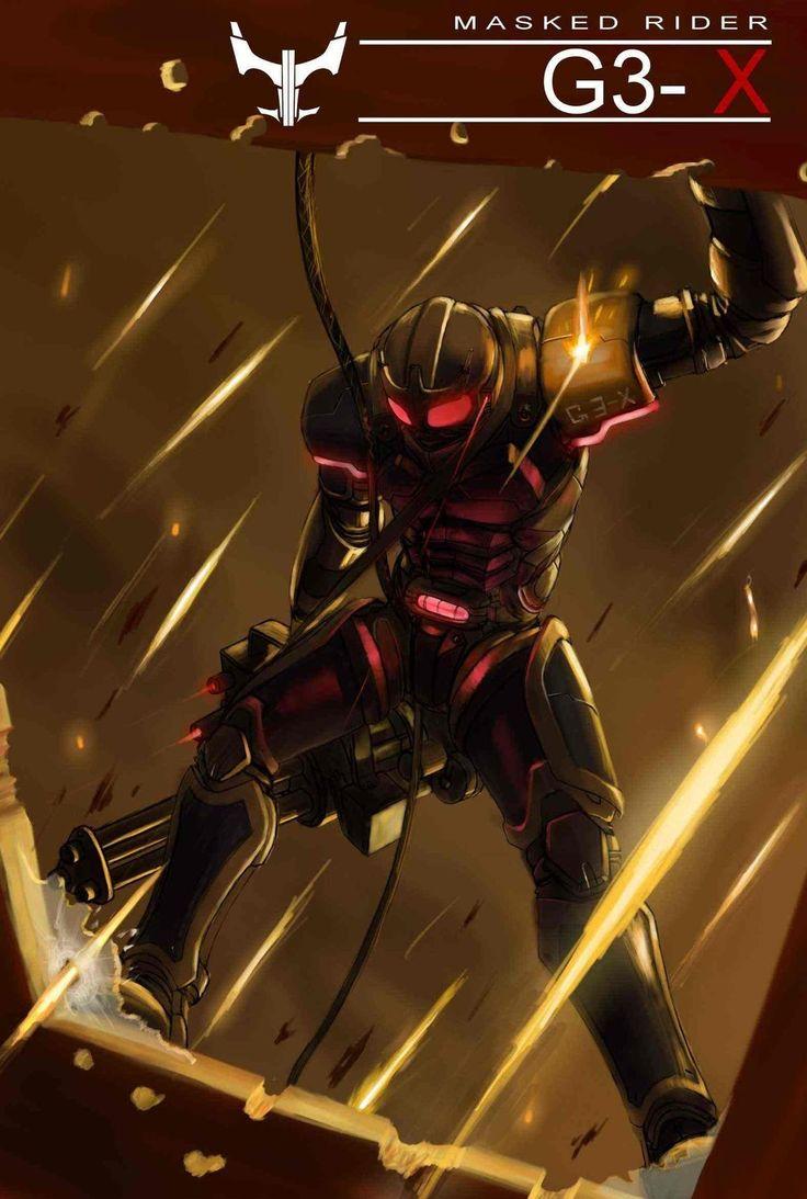 Kamen Rider G3-X (Bonus)