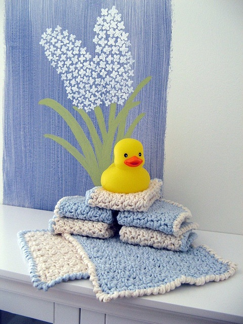 Crochet Washcloth Pattern Crochet Love Pinterest