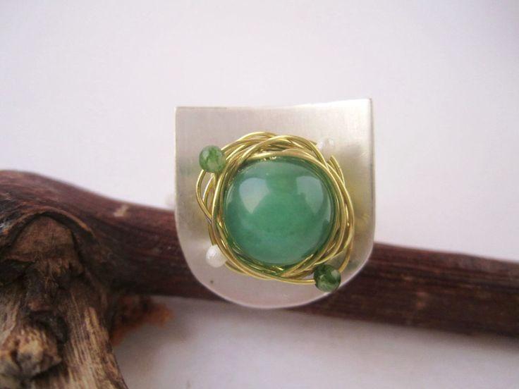 36 besten Handmade rings Bilder auf Pinterest | Handgefertigte ringe ...