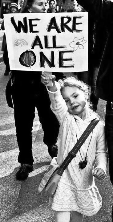 Beautifully said! Some people don't have the wisdom of this beautiful little girl.