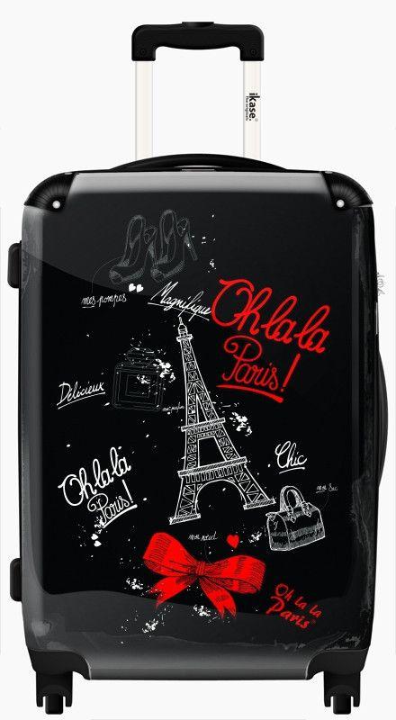 Suitcase Paris chic