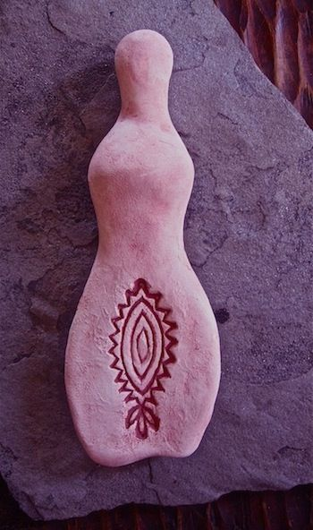 fertility goddess found by @Johnny Copperstone Copperstone Nightshift