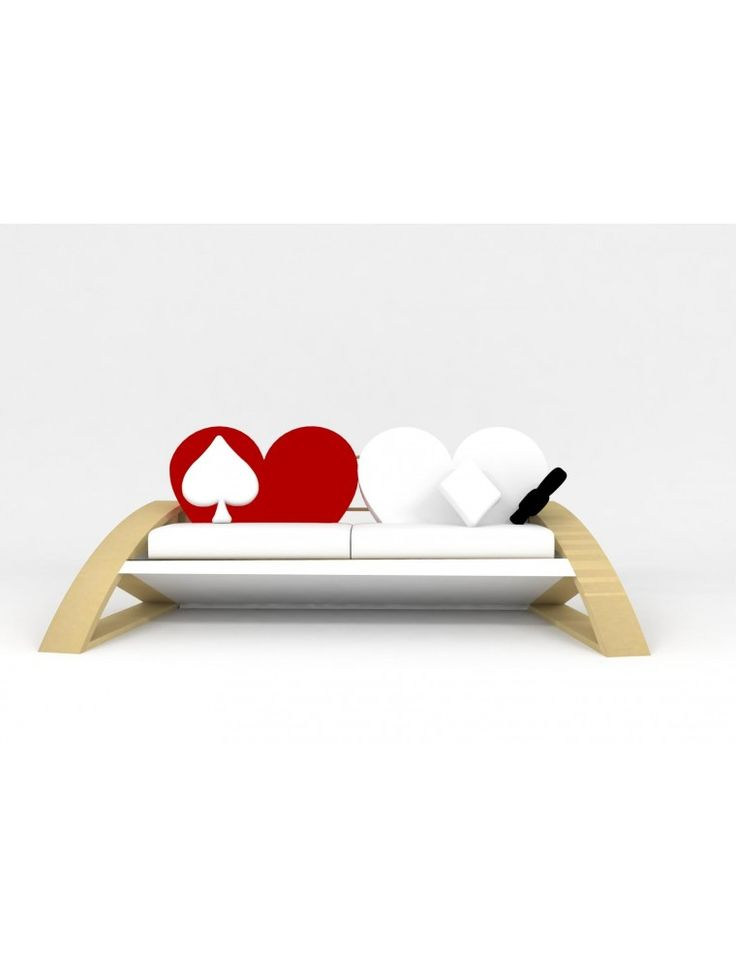 Heart Shaped Sofa LXS_A1990