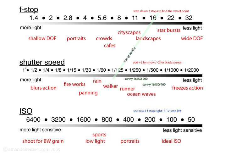 Reference Chart