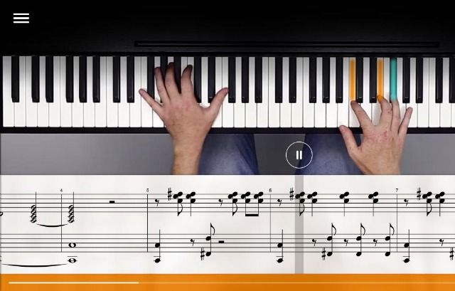 Las 25 mejores ideas sobre tocar el piano en pinterest y for Strumento online gratuito piano piano