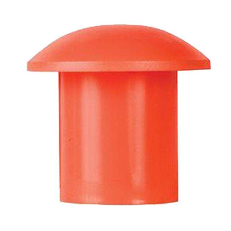 Grip-Rite Non-Osha Plastic Rebar Caps (25-Pack)
