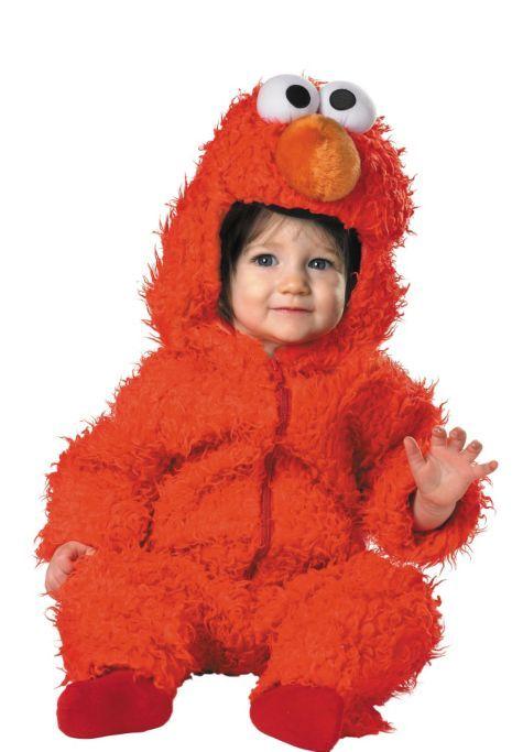 Deluxe Baby Elmo Costume - Party City