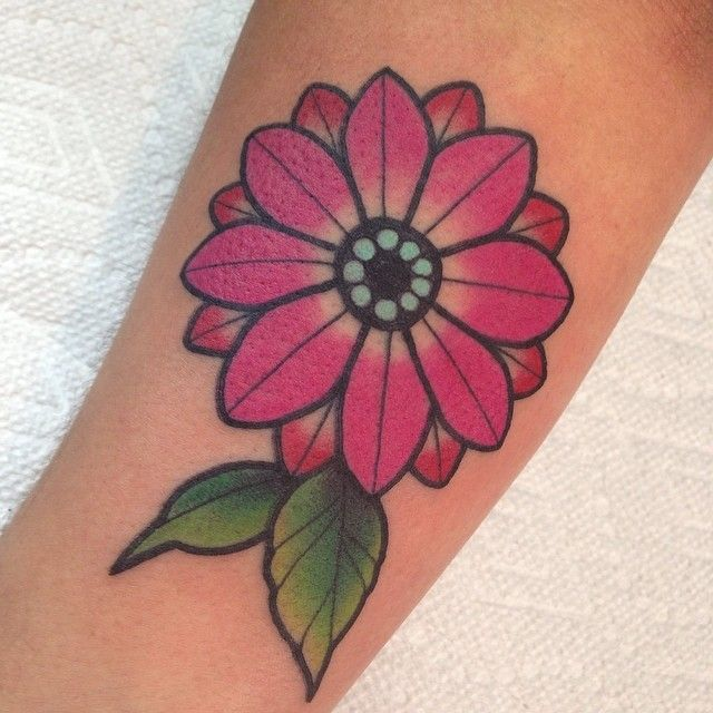 Pink Daisy Tattoo: 150 Small Daisy Tattoos Meanings (Ultimate Guide, August