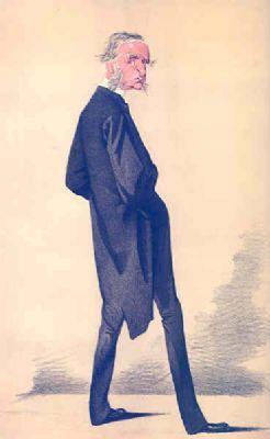 SPY CARTOON. Rev Canon Charles Kingsley 'The Apostle of the Flesh'. Clergy. 1872