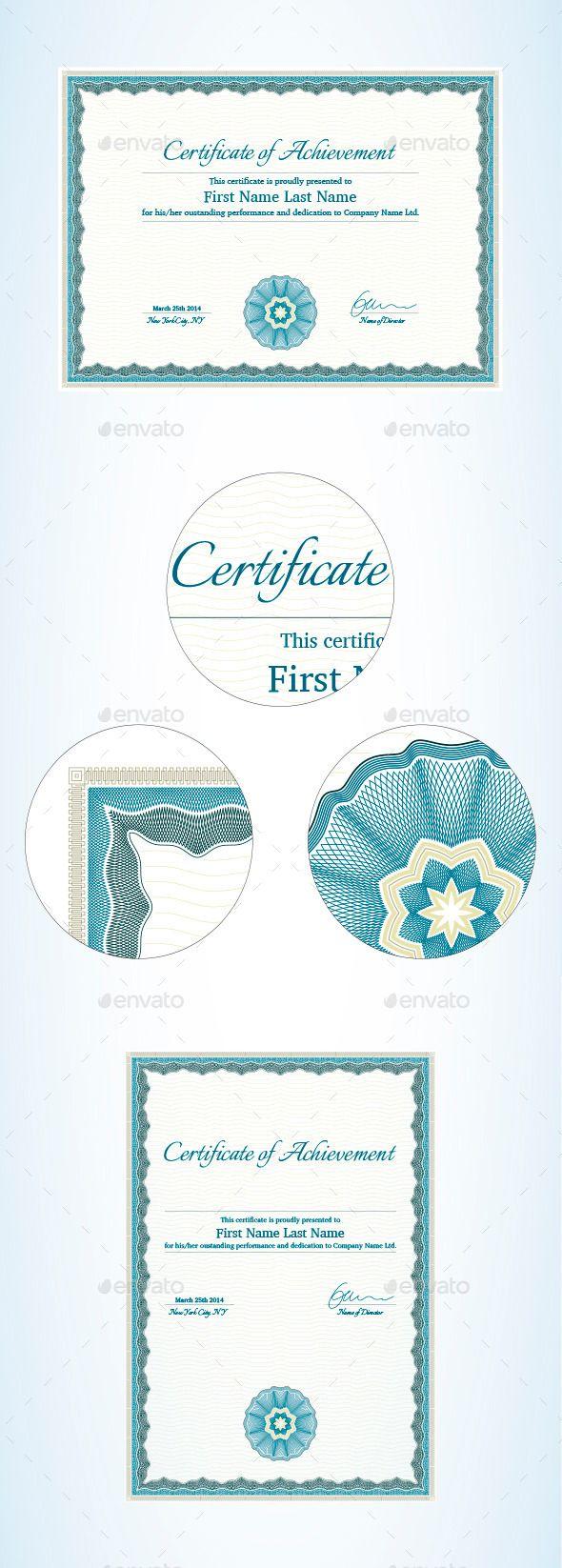 best 20 certificate of achievement template ideas on pinterest