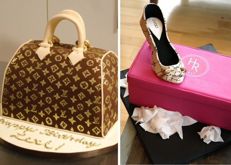 Louis Vuitton cake!