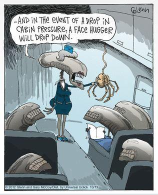 Alien Horror Movie Funny