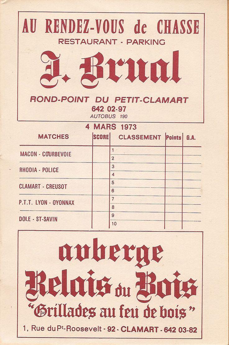 Calendrier 1972-1973 - 2ème Division - Page 21