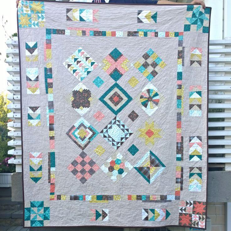 Tilkkupeitto / a sampler quilt