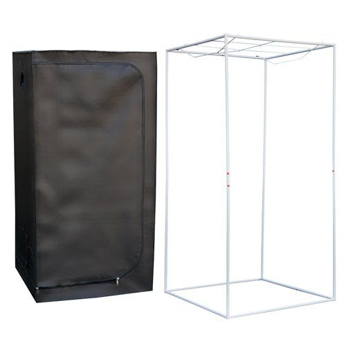 """Best ChoiceProducts Grow Tent Reflective Mylar Hydroponics Plant Growing Room New, 32″ X 32″ X 63″   Best ChoiceProducts Grow Tent Reflective Mylar Hydroponics Plant Growing Room New, 32"""" X 32"""" X 63"""" This grow tent helps you achieve the very best climate for your in-door hydroponic plants 'growth. Our dark room grow tent is highly reflective; complete Non-toxic, waterproof and extremely heat insulative, perfect environment for indoor cultivation. Can be constructed and display anywhe.."""