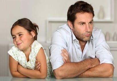 Отец и дочь: нарушенные отношения