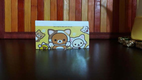 Password Book rilakkuma handmade Password di ConfusingWorld #rilakkuma #handmade #book #passwordbook