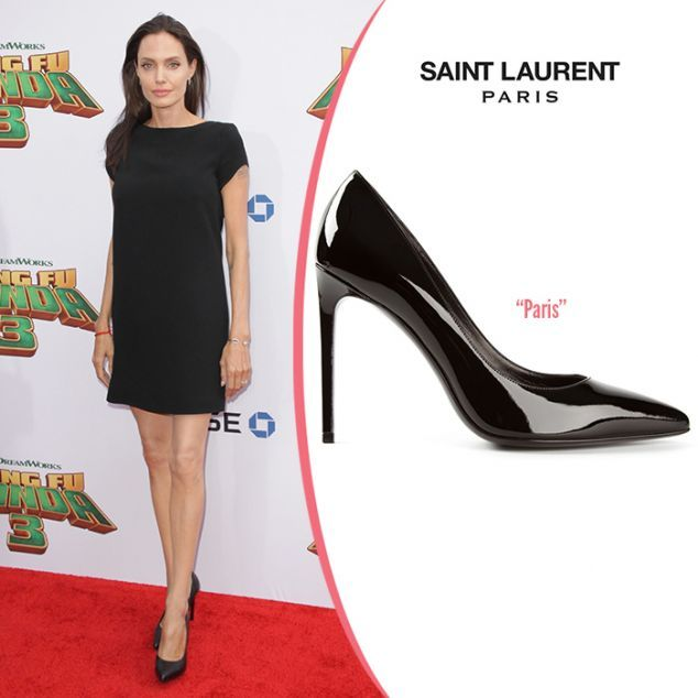 Η Angelina Jolie με υπέροχες γόβες Saint Laurent Paris http://www.new-shoes.gr/fashion-celebrity-news/i-angelina-jolie-me-goves-saint-laurent-939