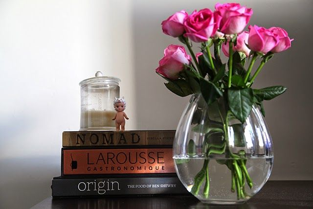 Antipodean Diaries - Around My Home {roses, books, home decor}