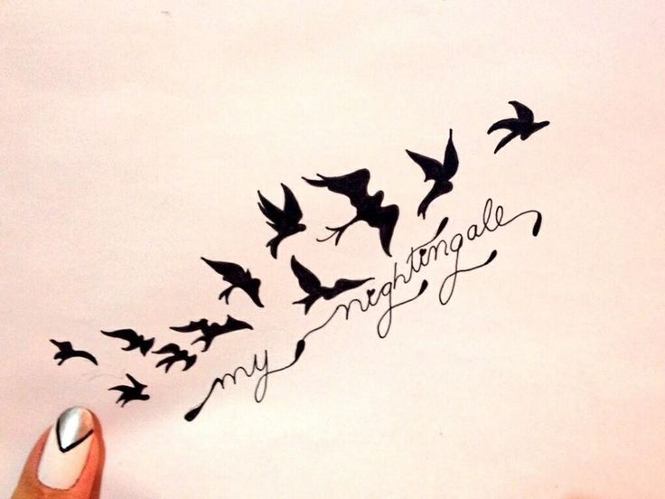 "I fell in love with this tattoo as hard as I fell in love with Demi Lovato's song ""Nightingale"""