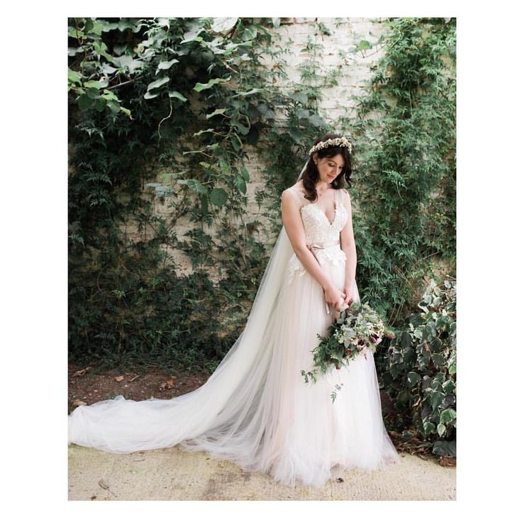 Bohemian pictured by @wedabelle featuring a beautiful real bride wearing our Inna gown #divineatelier #divineatelierbridal #weddinggown #weddingdress #realbride #bohobride #bohemian